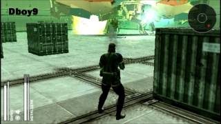 Metal Gear Solid: Portable Ops Walkthrough - Metal Gear Raxa Battle [HD]