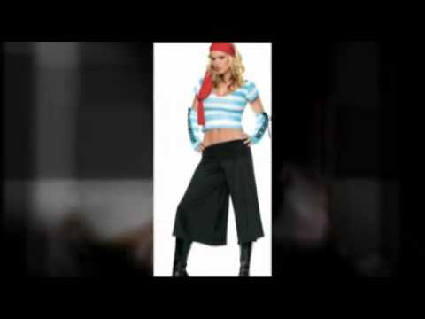 Halloween Pirate Costumes for Men and Women