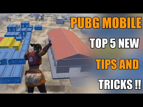 Pubg Mobile New 5 Tips And Tricks Hindi !! New Secret Pubg Mobile