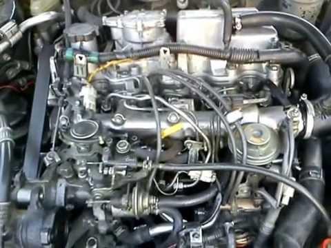 Двигатель 2С,Финальный запуск ДВС,после ремонта ГБЦ(с ВАЗовскими клапанами)