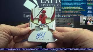 2018 Panini Immaculate Baseball Hobby 8 Box Case Break #17   RANDOM TEAMS