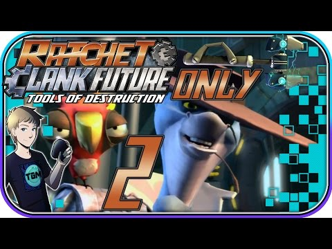 Ratchet & Clank: Tools of Destruction (WRENCH ONLY!) - Part 2: Planet Cobalia