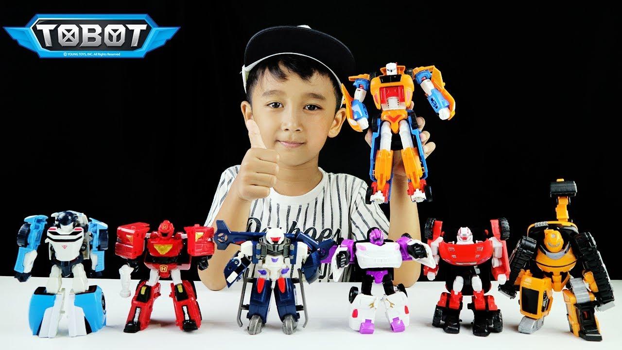 Tobot Titan Besar Gabungan Dari Tobot X Dan Y Review Mainan