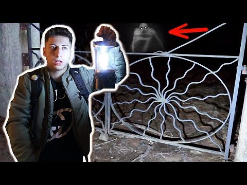 A Cult Chased me out of HAUNTED Spider Gates Cemetery *scary*