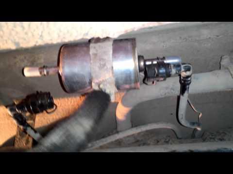 Замена топливного фильтра Priora