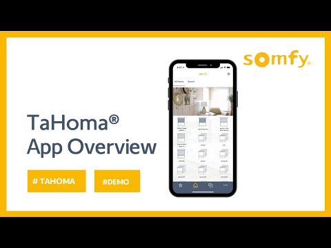 Download TaHoma® App Overview