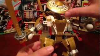 Lego 2013 Ninjago Temple of Light Review Set # 70505 Golden Ninja