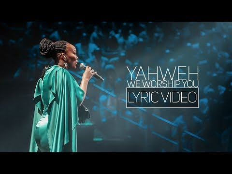 Spirit Of Praise 7 ft Bongi Damans - Yahweh, We Worship You - Lyric Video - Gospel Praise & Worship