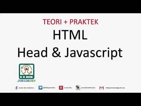 Fungsi Tag Head Dan Metadata Pada HTML | Tutorial HTML (part 13)