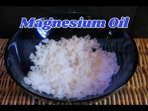 Magnesium Oil Benefits And How To Make Your Own Magnesium Oil Using A Simple Recipe