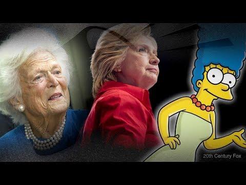 Rebel Buzz: Hillary, Barbara Bush (& Marge Simpson!) | Amanda Head