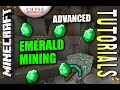 Minecraft PS4 - EMERALD MINING - ADVANCED - How To - Tutorial ( PS3 / XBOX )