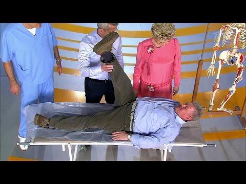 Жить здорово! Домашний тест при боли в спине. (15.07.2016)