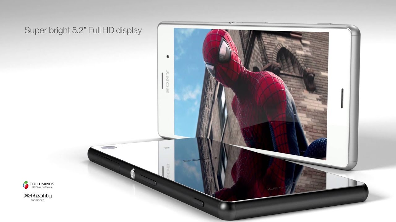 Hd wallpaper xperia z3 - Sony Xperia Z3 Flagship Smartphone With 5 2 Full Hd Display 20 7 Mp Camera And Ip65 68