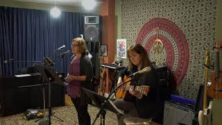 Cheryl and Pam Performing Love Song Main Street Music and Art Studio