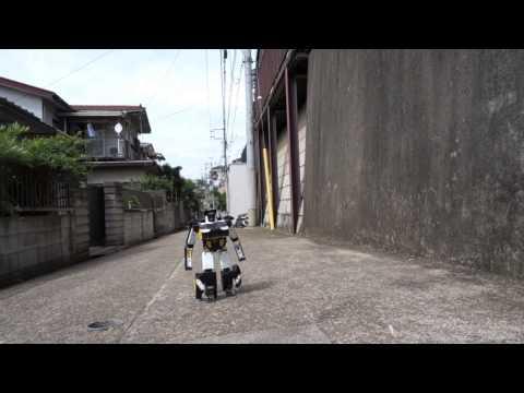 BRAVE ROBOTICS Transform Robot Ver7.2 Outdoor Test