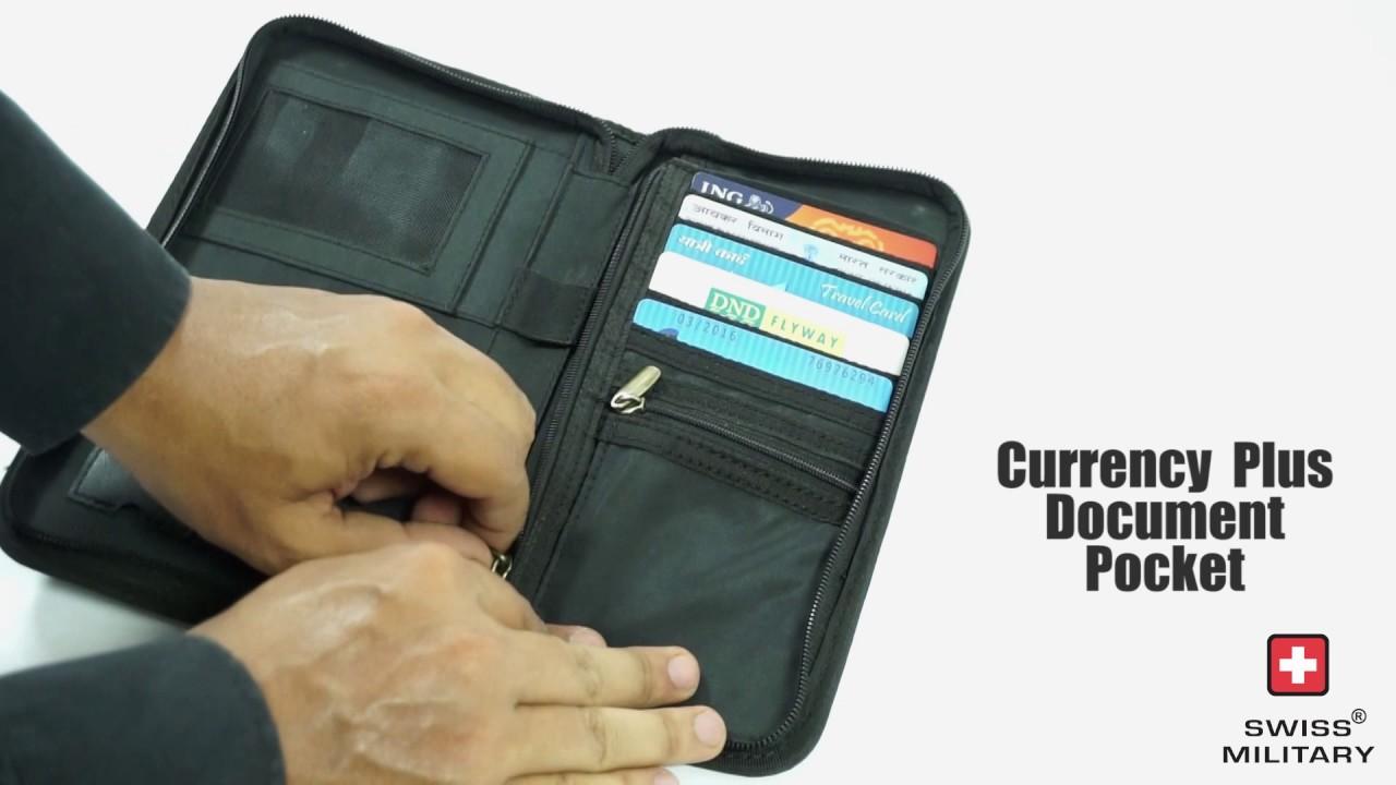 620eae401e28 Swiss Military Travel Wallet (TW-2   TW-4) - YouTube