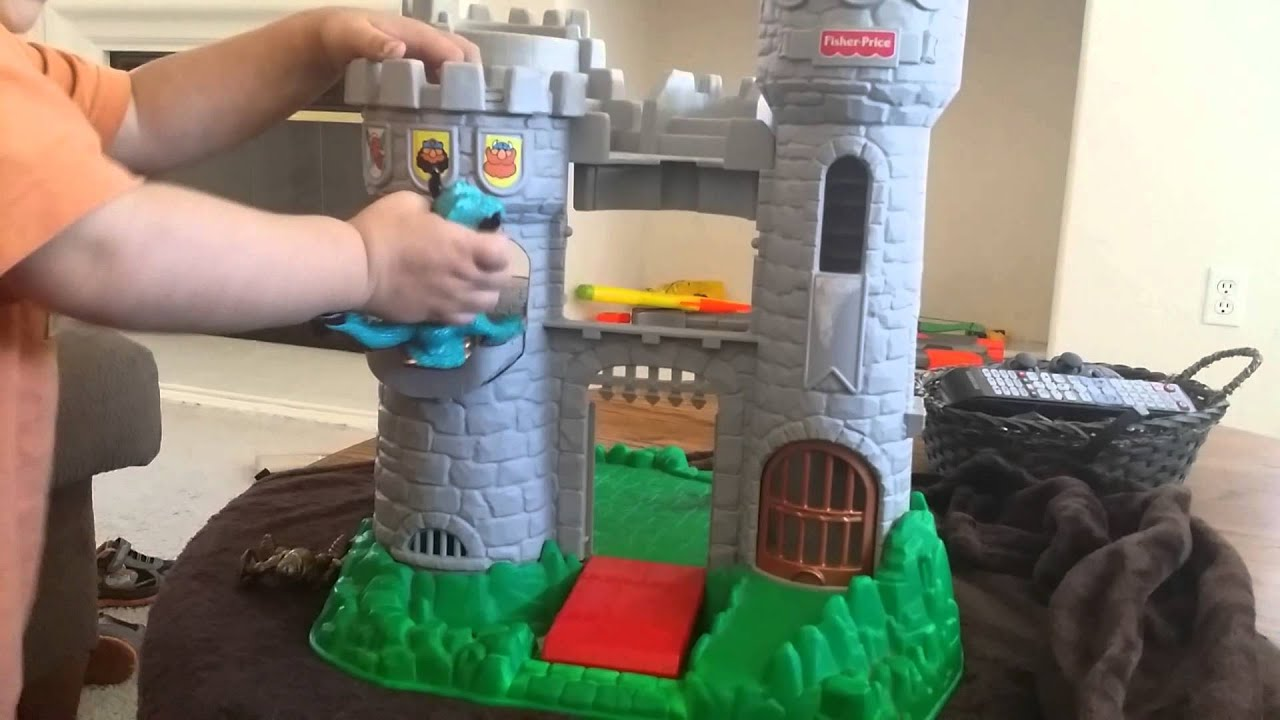 Toy Castle Show : Fisher price castle review youtube