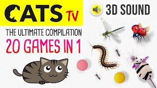 CATS TV  The ULTIMATE Games Compilation (20 in 1) 3 HOURS