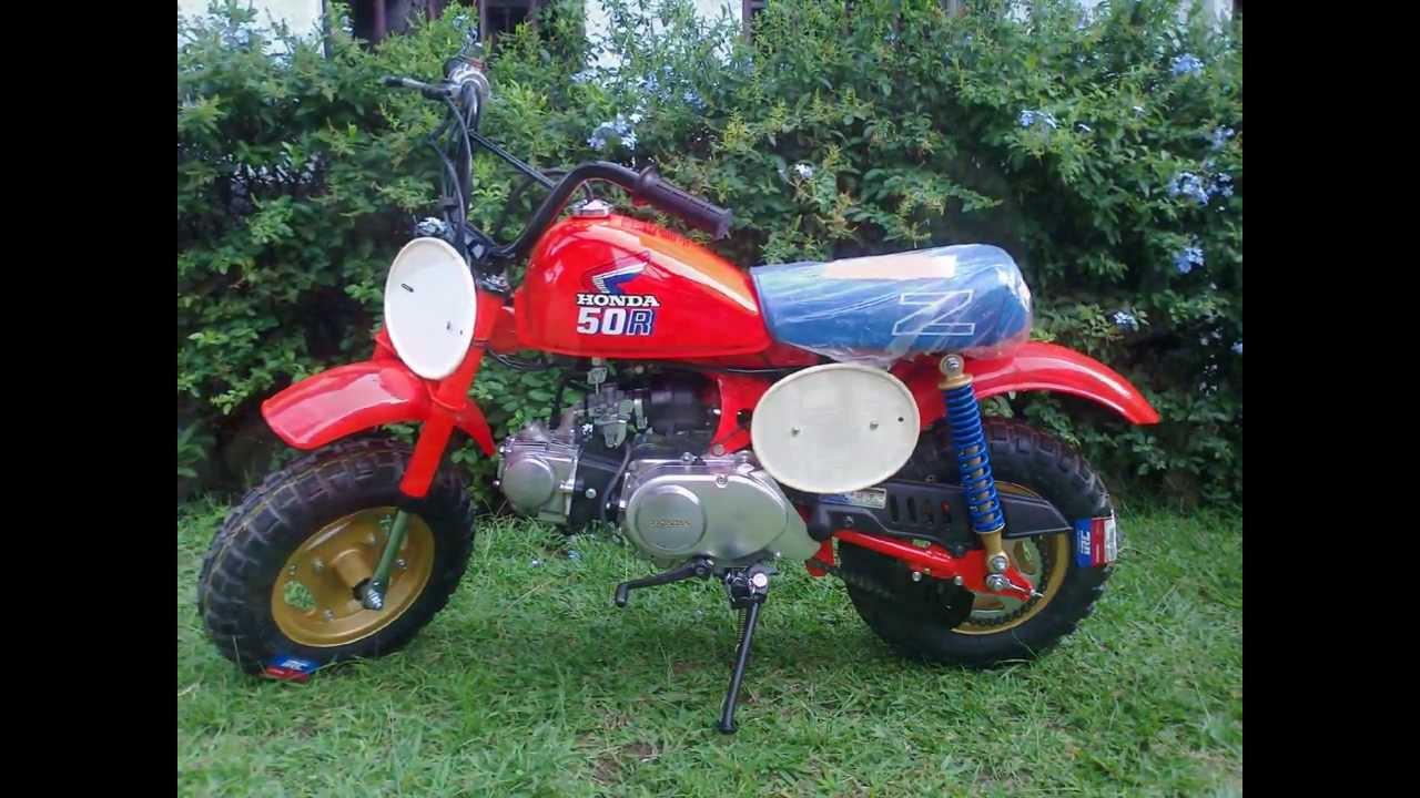 Honda Z50 1986 Youtube