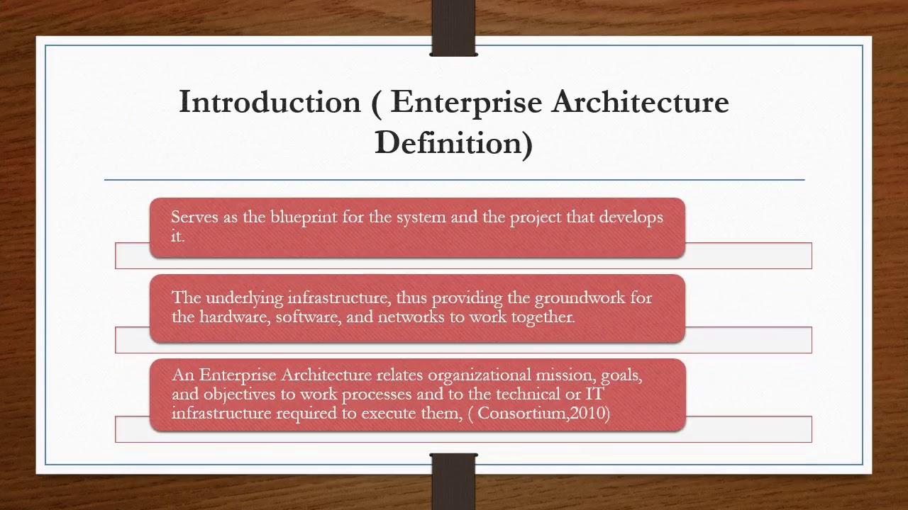 A comparison of enterprise architecture framework youtube a comparison of enterprise architecture framework malvernweather Gallery
