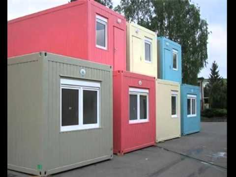 Light Steel Frame Prefab 40ft Portable Flat Pack 20ft Container House Villa Office Home