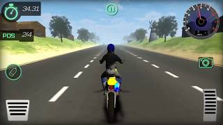 Highway Trail Bike Racer Android Gameplay