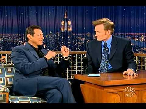 Conan O'Brien 'Jeff Goldblum 4/15/05