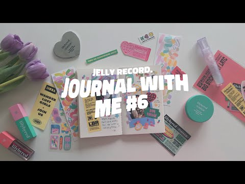 journal with me #6 + mini korea haul | jelly record.