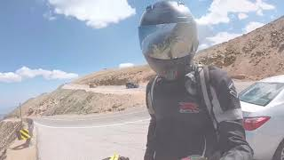 1,800 miles on a street bike (Texas to Colorado)