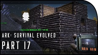 "ARK: Survival Evolved Gameplay Part 17 - ""UNIQUE BASE BUILDING!"" (SEASON 3)"