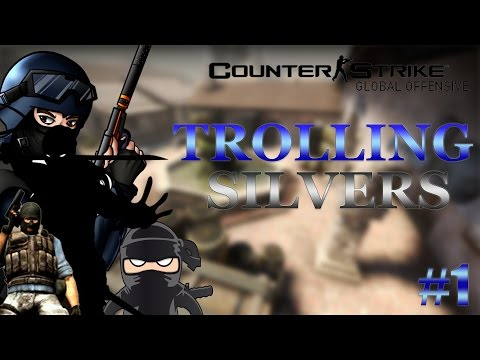 CS:GO - Trolling Silvers #1 Operation: Ninja
