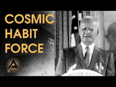 """Cosmic Habit Force"" - Rare Napoleon Hill Live Lecture on The Power of Habit - Think and Grow Rich"