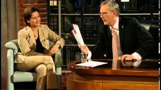 Die Harald Schmidt Show - Folge 0887 - 2001-03-02 - Sandra Maischberger, Barbara Rudnik