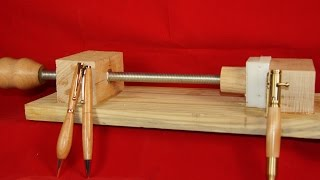 Pen Press And Pen Makers Vise Solution #16
