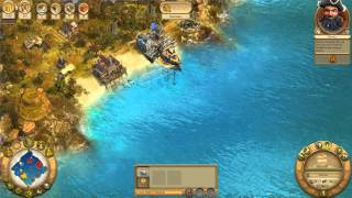 Anno 1701 - Mission 10 - Baptism of Fire - Walkthrough Gameplay PC