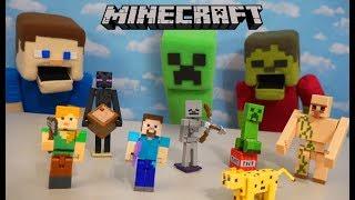 Minecraft TERRA FUMETTO Maker Steve Figura Nuovo