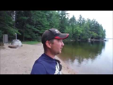 Bon Echo Provincial Park - Off Leash Dog Beach & Pet Exercise Trail - RV Camping Ontario