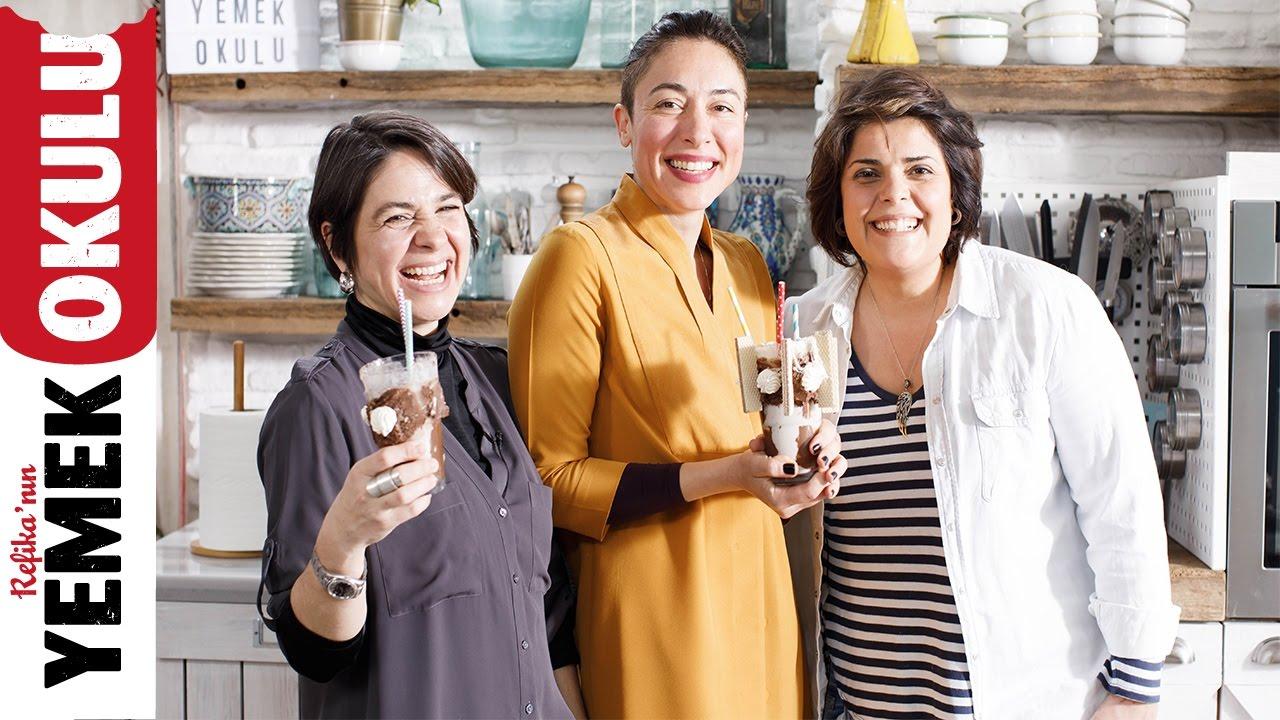 2 Anne 1 Mutfak ile Diyetten Önceki Son Çıkış |5 Dakikalık Yemekler