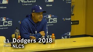 Dodgers NLCS 2018: Dave Roberts talks matchups and the NLCS chess game thumbnail