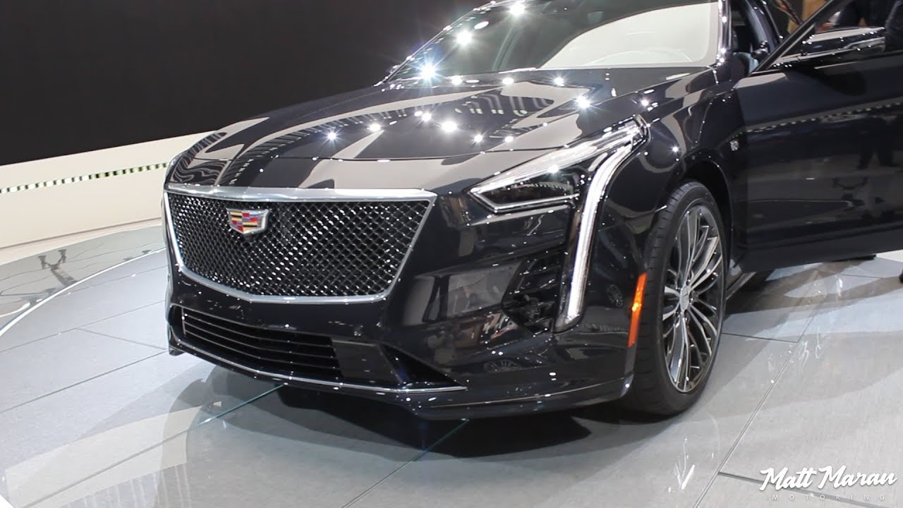 2019 Cadillac Ct6 V Sport Close Up Look Youtube