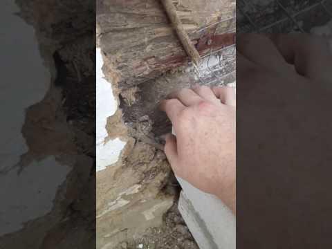 Как соединить деревянный дом и пристройку из газоблока .Перевязка кладки .