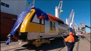 CityRail - Waratahs (PPP Carridges) arrive in Newcastle