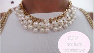 ✂ DIY collar de perlas fácil paso a paso /Nerea Iglesias Thumbnail