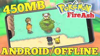 [450MB] HOW TO DOWNLOAD POKEMON 🔥 FIRE ASH FOR ANDROID/ POKEMON FITE ASH DOWNLOAD FOR ANDROID