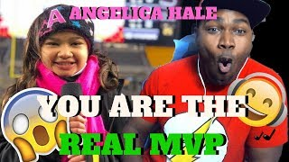 Angelica Hale Sings National Anthem - Baltimore Ravens vs. Pittsburgh Steelers (12/10/17) REACTION