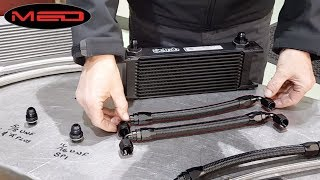 A-Series oil cooler and filter head upgrades