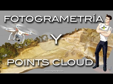 Fotogrametría aérea con un Drone / Photogrammetry with Drone