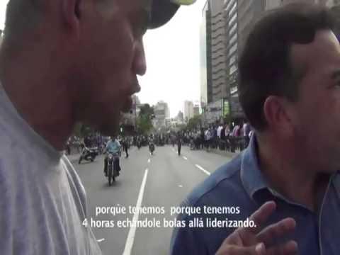 General retirado Antonio Rivero asesora a los estudiantes para Guarimba