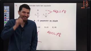 7) İlyas GÜNEŞ - Temel Kavramlar TEST - VII (TYT Matematik Soru Çözüm) 2019